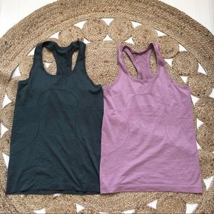 Lululemon swiftly tank tops
